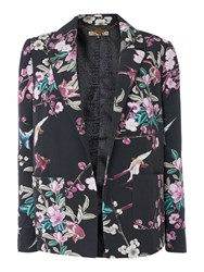 Biba Printed Pyjama Jacket Multi Coloured