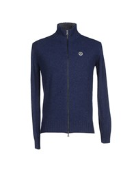 North Sails Knitwear Cardigans Men Slate Blue