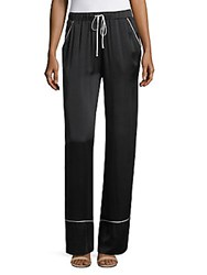 Majorelle Eaton Silk Pants Black