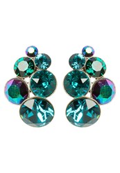 Konplott Petit Glamour Earrings Blue Green