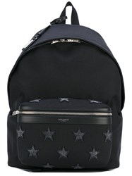 Saint Laurent 'Classic City California' Backpack Men Leather Polyamide One Size Black