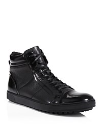 Kenneth Cole Kickoff High Top Sneakers Black