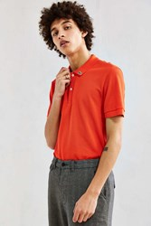 Lacoste Holiday Animation Polo Shirt Red