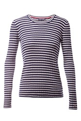Tommy Hilfiger Erca Mini Cable Sweater White