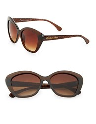 Sam Edelman 51Mm Cats Eye Sunglasses Brown