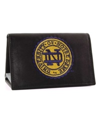 Rico Industries Notre Dame Fighting Irish Trifold Wallet Black