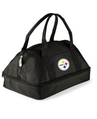 Picnic Time Pittsburgh Steelers Potluck Carrier Black