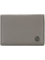 Gieves And Hawkes Billfold Cardholder Grey