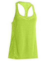 Under Armour Stunner Lace Tank Yellow