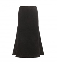 Alexander Wang Knitted Midi Skirt Black