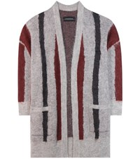 By Malene Birger Berbicia Mohair And Wool Blend Cardigan Multicoloured