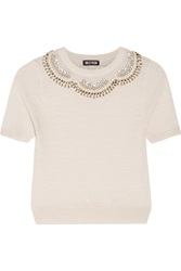 Holly Fulton Embellished Wool Sweater