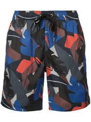 Onia Charles 7 Swim Shorts Blue