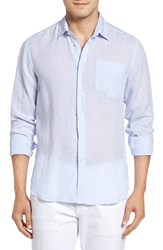 Vilebrequin Men's Regular Fit Linen Sport Shirt