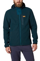Helly Hansen 'S Vanir Zip Fleece Hoodie Midnight Green