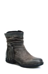 Brn Women's B Rn 'Cross' Bootie Peltro Distressed Leather