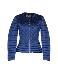 313 Tre Uno Tre Down Jackets Blue