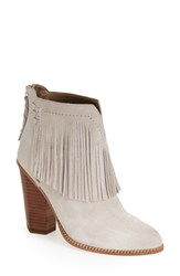 Women's Cynthia Vincent Fringe Bootie Winter White