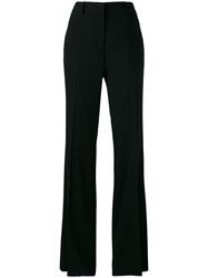 Calvin Klein Collection Flared Trousers Black