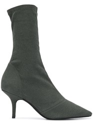 Yeezy Stretch Ankle Boots Grey