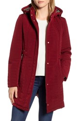 Gallery Hooded Quilted Jacket