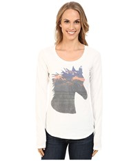 Roper 9918 Cotton Poly Jersey Tee White Women's T Shirt