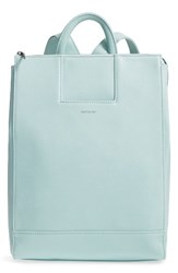 Matt And Nat 'Katherine' Faux Leather Backpack Blue Glass