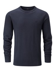 Henri Lloyd Men's Moray Regular Crew Neck Knit Jumper Navy