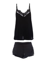 Bluebella Odele Cami And Short Set Black