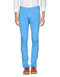 Fradi Trousers Casual Trousers Azure