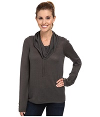Royal Robbins Sunna Pullover Obsidian Women's Long Sleeve Pullover Brown