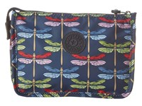 Kipling Harrie Pouch Dragonfly's Distress Clutch Handbags Navy