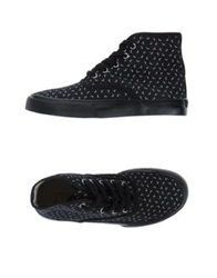 Ymc You Must Create High Top Sneakers Black