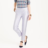 J.Crew Collection Cigarette Pant In Heavy Shantung