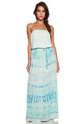 Gypsy 05 Silk Tube Maxi Dress Mint
