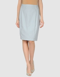 Stephan Schneider Knee Length Skirts Light Grey