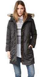 Madewell Leopold Military Parka True Black