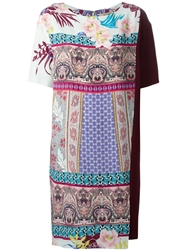 Etro Printed Loose Fit Dress Multicolour