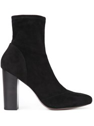 Derek Lam 10 Crosby Slip On Ankle Boots Black