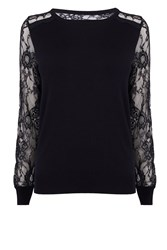 Coast Val Lace Jumper Navy