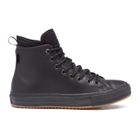 Converse Men's Chuck Taylor All Star Ii Leather Neoprene Boot Hi Top Trainers Black Monochrome