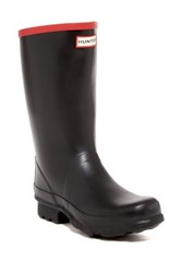 Hunter Argyll Short Knee Waterproof Boot Black