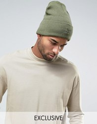 Puma Archive No 1 Beanie In Green Exclusive To Asos 02142804 Green
