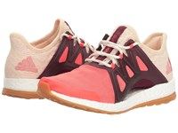 Adidas Pureboost Xpose Clima Easy Coral Linen Maroon Women's Running Shoes Pink
