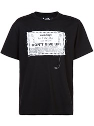 Haculla Readings By T Shirt Black