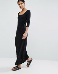 Only Abbie Dress With 3 4 Sleeve Black