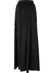Forte Forte Wrap Tie Detail Maxi Skirt Black