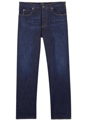 Armani Jeans J21 Dark Blue Straight Leg