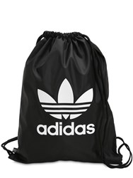 Adidas Trefoil Drawstring Backpack Black