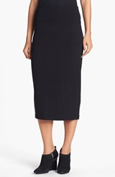 Eileen Fisher Women's Foldover Waist Straight Skirt